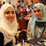 Fahima Alshabeeb, on left (2013) and Wedad Al-Lajhi (2015). Fahima is pursuing a PhD in SLA. Wedad is an ELT instructor at Yanbu University College in Saudi Arabia. Wedad works on teacher-training projects with the AEI at UO.