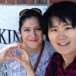 Jingyun Chen (graduated 2013, pictured here with her LTS cohort friend Sara Marruffo) is a Chinese instructor at Johns Hopkins University, Maryland.