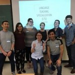 LTS students present at the Foreign Language and International Studies Day